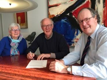 Oprichtingsakte Suwijn en Schaatsmuseum 2019
