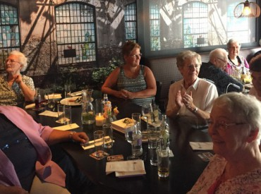 Zonnebloem afdeling de Driene bij Club Merlijn (Juli 2018)