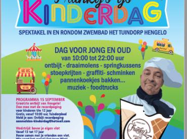 Promotie van Franky's IJs Kinderdag mmv De Lijn